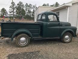 1950 Dodge Series 20 Pickup Truck For Sale Truck Regular Cab ...
