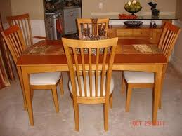Maple Dining Table Set Retro Kitchen And Chairs For Sale