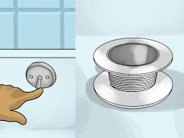 Unclogging Bathtub Drain Twist Turn by How To Fix A Stopper That Doesn U0027t Seal 10 Steps With Pictures