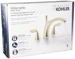 Kohler Mistos Faucet Chrome by Kohler R99901 4d Bn Williamette Widespread Bathroom Sink Faucet