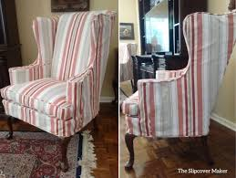 Full Size Of Accessorieswing Back Chair Slip Cover With ...