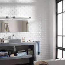 carrelage salle de bain metro carrelage mural blanc 7 5 x 15 cm métro castorama