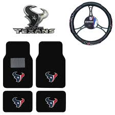 100 Texan Truck Accessories New NFL Houston S Car Floor Mats Steering Wheel Cover