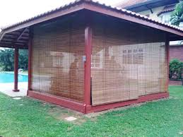 Roll Up Patio Shades Bamboo by Patio Shades Bamboo Roll Up Bamboo Patio Shades Atmosphere