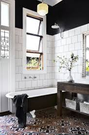amusing black white bathroom best and whitethrooms images on wall