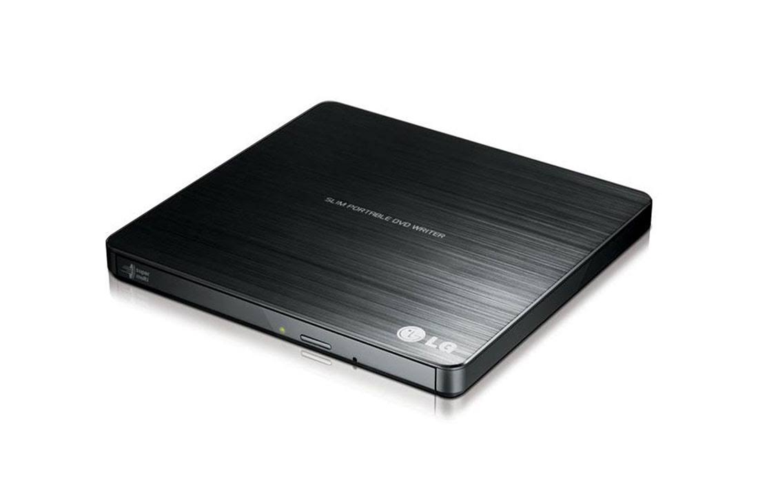LG GP60NB50 Slim Portable DVD Writer - Black