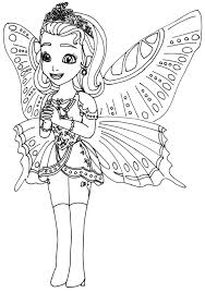 Princess Sofia Drawing Coloring Pages