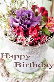 Birthday Cakes Captivating Birthday Cake And Flowers