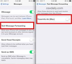 How to Send & Receive Text Messages from Mac with SMS Relay for OS X