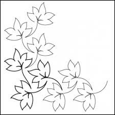 Fall black and white fall leaves clipart black and white border clipartfest 4