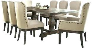9 Piece Dining Room Table Sets Black Square Kitchen Glamorous And Chairs Tables Small