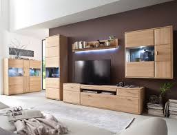 wohnzimmer torrent 32 eiche bianco 5 teilig wohnwand highboard vitrine expendio