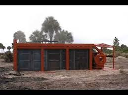 Air Curtain Destructor Burning by Air Curtain Firebox For Wood Waste And Storm Debris Disposal Youtube