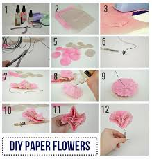Easy Diy Paper Flower Tutorial Love Inc Maglove Mag