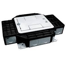 legrand wiremold single or recessed floor box wiremold wmfb1drb