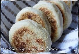 gateau a pate levee muffins anglais au lait de soja pâte levée pour le brunch ou le