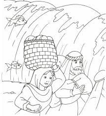 The Hebrews Walking Through The Sea Exodus 14