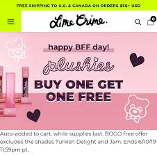 Lime Crime - Buy One Get One Free Plushies Lipstick, Free US/Canada ... Benefit Makeup Discount Codes Supp Store Gomonrovia City Of Monrovia Lime Crime Up To 85 Off Select Velvetines As Low 35 Venus Ulta Targeted 15 50 Purchase Coupon Album On Imgur These Top 11 Makeup Brands Offer Student Discounts For College Students Free Diamond Crusher With Every Order Shipping New Moonlight Mermaid Collectors Set Full Demo Swatches Review Tanya Feifel 25 Off Cyo Cosmetics Coupons Promo Wethriftcom Dolls Kill Code 2018 Coupon Reduction Real Debrid Spend More And Get Sale 30 Muaontcheap Arteza Code The Beauty Geek