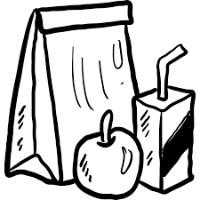 Food Lunch Bag Dinner Meal Fast Paper Bakery Rh Shareicon Net School Clipart
