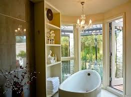 Spa Like Bathroom With Garden View