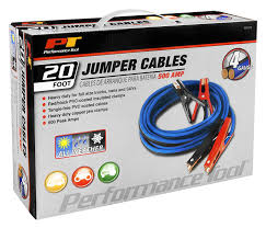 Performance Tool W1673 20' 4-Gauge 500 AMP All Weather Jumper Cables ... Heavy Duty Jumper Cables For Industrial Vehicles Truck N Towcom Enb130 Booster Engizer Roadside Assistance Auto Emergency Kit First Aid 1200 Amp 35 Meter Jump Leads Cable Car Van Starter Key Buying Tips Revealed Amazoncom Cbc25 2 Gauge Wire Extra Long 25 Feet Ft Lexan Plug Set With 500 Amp Clamps Aw Direct Buyers Products Plugins 22ft 4 Ga 600 Kapscomoto Rakuten X 20ft 500a Armor All Start Battery Bankajs81001 The Home Depot