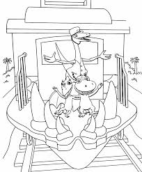 Dinosaur Train Coloring Pages Printable