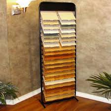 metal floor tile display rack tile display staggered tile rack