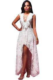 white lace high low maxi dress maxi dresses white lace and high low