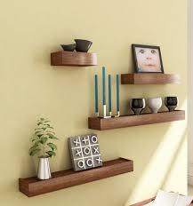 Decorating Wall Shelves Shelf Designs Buy Pindia Brown F Storage Wooden Mini Chest Kitchen Furniture Interior