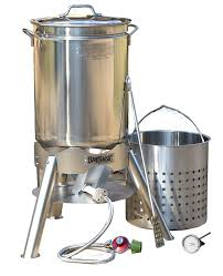 Amazon.com : Bayou Classic 32 Quart Complete Stainless Steel ... Splendiferous King Kooker Outdoor Turkey Fryer Model Amazoncom Waring Pro Tf200b Rotisserie Frysteamer 30 Qt Stainless Steel Frying Propane Kit Backyard Quart Deluxe Fryers Smokers Patio Lawn Weekend Series Qt With Alinum Lighting Itructions Youtube Bayou Classic 32 Complete Backyards Wondrous All