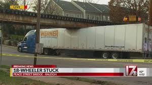 100 Two Men And A Truck Raleigh S Peace Street Bridge Claims 1st Truck Of 2019