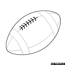 Full Size Of Coloring Pagesfootball Pages Page Only Pinterest Throughout The Elegant Along Large
