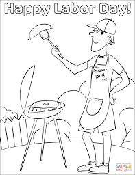 Click The Happy Labor Day Coloring Pages To View Printable Version Or Color It Online Compatible With IPad And Android Tablets