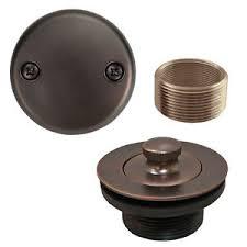 Bathtub Trip Lever Assembly Kit oil rubbed bronze lift and turn tub drain bathtub conversion