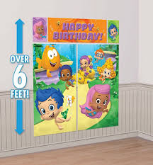 Bubble Guppies Cake Toppers by Bubble Guppies Party Supplies Girls Party Themes Girls