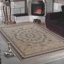 klassischer orientalischer wohnzimmer teppich marrakesh 0209 beige