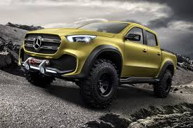 A Pick-up In Demand: Merc X-class On Sale Before It's Even Been ...