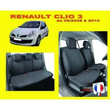 housse de siège auto sur mesure privilège pour voiture renault clio 3
