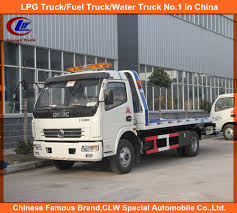 China Dongfeng Flatbed Road Wrecker Towing Truck 5tons For Sale ...