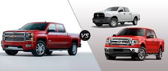 100 Ford Trucks Vs Chevy Trucks Compare The Silverado And F150 Sir Walter ChevroletRM