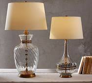 Fillable Glass Lamp Base by Fillable Glass Lamp Pottery Barn