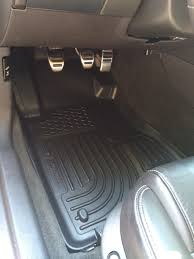 Husky Liners Weatherbeater Floor Liners by Husky Vs Weathertech The Mustang Source Ford Mustang Forums