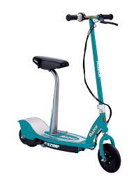 Amazon Razor E200S Seated Electric Scooter Teal Sports Scooters Outdoors