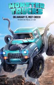 MONSTER TRUCKS Movie Trailer! - ConservaMom
