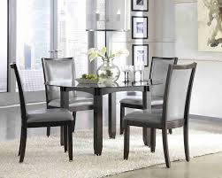 Home Interior Grey Fabric Dining Room Chairs Designs Impressive For Design Ideas With Contemporary Kitchen Table And 6 Stores