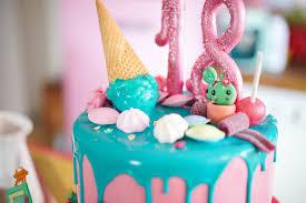 18th birthday cake geburtstagstorte zum 18 drip cake