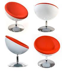 chaise boule fauteuil boule design laqué tout doit disparaitre
