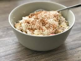 5 minuten porridge mit apfel kochen de