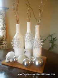 Decorative Wine Bottles Crafts by Designers Sweet Spot 31 Days Of Pintrest Diy Day 16 Christmas