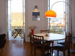 Dining Room Modern Interior Decorating Ideas Contemporary Floor Lamps Arc Lamp Above Dinner Table